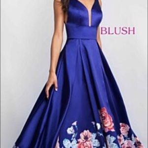 Beautiful blush blueish purple dress